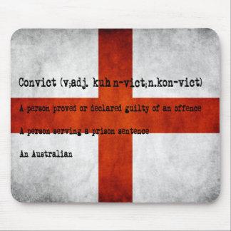 Australische Convictdefinition Mousepad