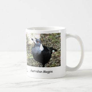Australische Elster Kaffeetasse