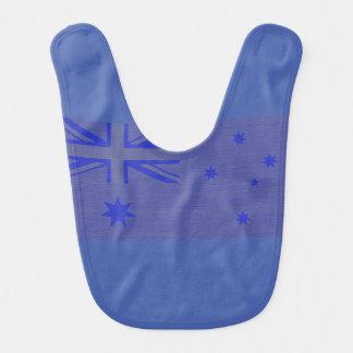 Australische Flagge Babylätzchen