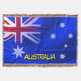 Australische Flagge Decke