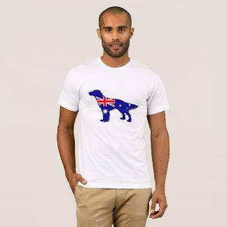 Australische Flagge - englischer Setzer T-Shirt