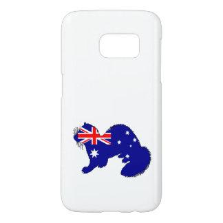 Australische Flagge - Frettchen