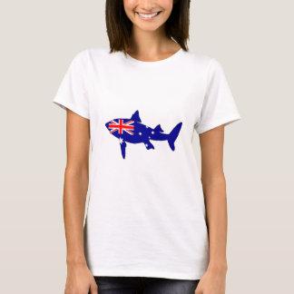 Australische Flagge - Haifisch T-Shirt