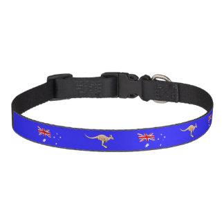 Australische Flagge Haustierhalsband