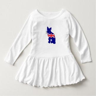 Australische Flagge - Katze Kleid