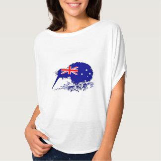 Australische Flagge - Kiwi-Vogel T-Shirt