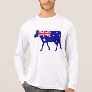 Australische Flagge - Kuh T-Shirt