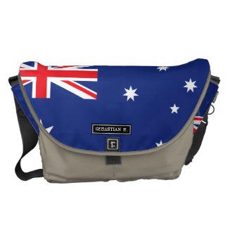 Australische Flagge Kuriertasche