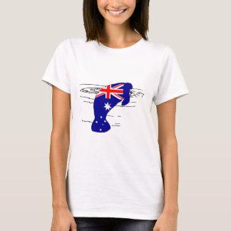 Australische Flagge - Manatis T-Shirt