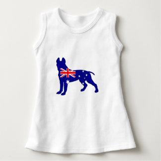Australische Flagge - Pitbull Terrier Kleid