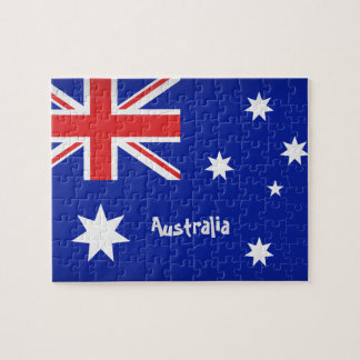 Australische Flagge Puzzle