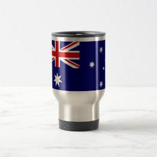 Australische Flagge rostfreier Stahl 15 Reisebecher