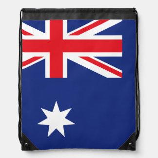 Australische Flagge Sportbeutel