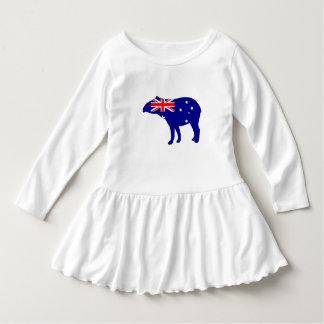 Australische Flagge - Tapir Kleid