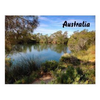 Australische Hinterlandpostkarte Postkarte