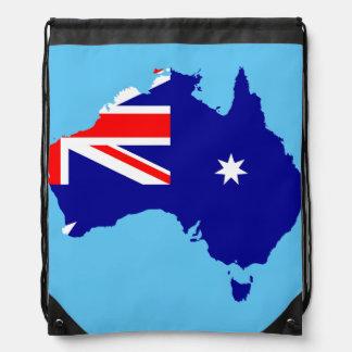Australische Landesflagge Sportbeutel