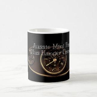 Australische Minifans plus Aufhänger Onner's. Kaffeetasse