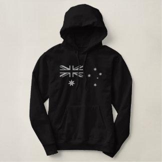 Australische Rocker-Flaggen-Stickerei Hoodie