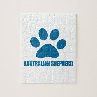 AUSTRALISCHE SCHÄFER-HUNDEentwürfe Puzzle