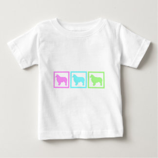 Australische Schäfer-Quadrate Baby T-shirt