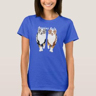 Australische Schäfer-Regel T-Shirt
