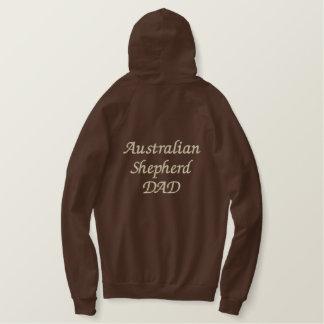 Australische Schäfer VATI Geschenke Bestickter Hoodie