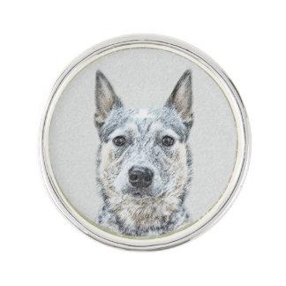 Australische Vieh-Hundemalerei - niedliche Anstecknadel