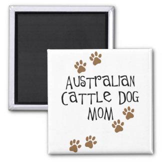 Australische Vieh-Hundemamma-T - Shirts u. -gesche Magnets