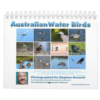 Australische Wasser-Vögel Abreißkalender