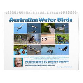 Australische Wasser-Vögel Wandkalender