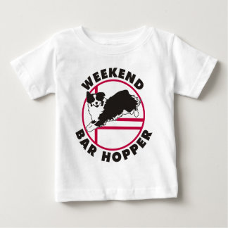 Australischer Agility-Wochenenden-Bar-Trichter Baby T-shirt