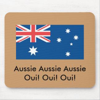 Australischer australischer Australier Oui! … Mousepad