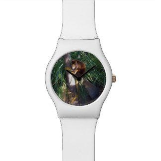 Australischer Baum-Känguru, Damen-weiße Uhr