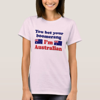 Australischer Bumerang T-Shirt