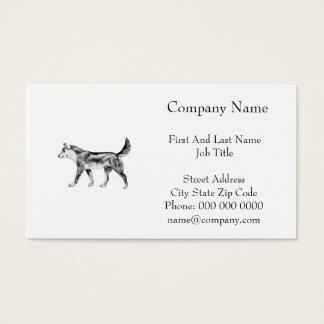 Australischer Dingo Visitenkarte