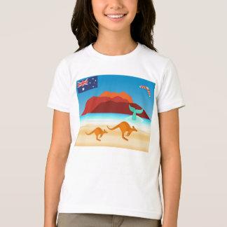 Australischer Insel-Strand-T - Shirt