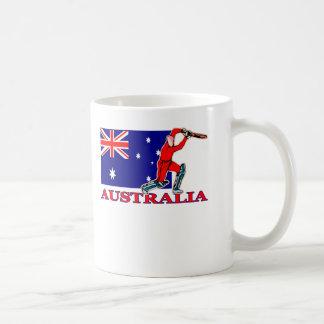 Australischer Kricket-Spieler Kaffeetasse