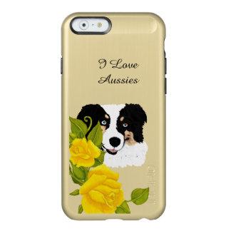 Australischer Rosen iPhone 6 des Schäfer-w/Yellow Incipio Feather® Shine iPhone 6 Hülle