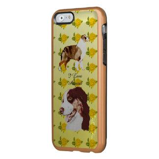 Australischer Schäfer und gelbe Rosen 6/6S Incipio Feather® Shine iPhone 6 Hülle