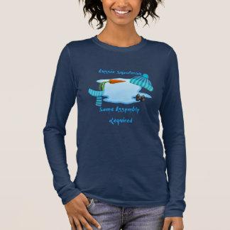 Australischer Schneemann Langarm T-Shirt