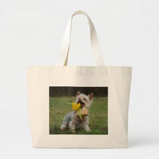 Australischer seidiges Terrier-Hund Jumbo Stoffbeutel