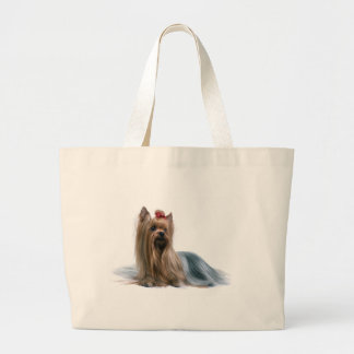 Australischer seidiges Terrier-Hundeshow-Hund Jumbo Stoffbeutel
