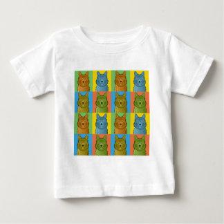 Australischer Terrier-HundeCartoon Pop-Kunst Baby T-shirt