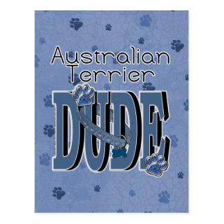 Australischer Terrier TYP Postkarte