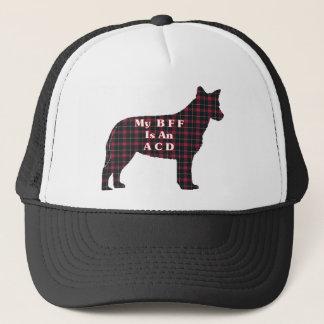Australischer Vieh-Hund-BESTE FREUNDIN Hut Truckerkappe