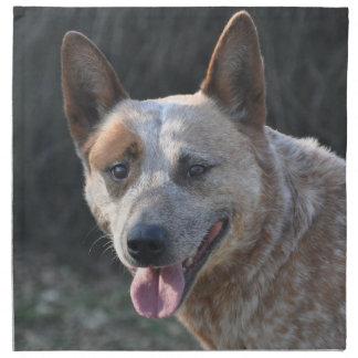 Australischer Vieh-Hund Stoffserviette