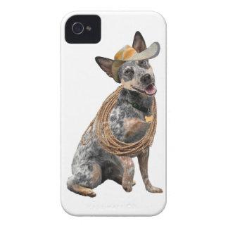 Australischer Vieh-Hundeseiten-Tritt iPhone 4 Case-Mate Hüllen
