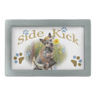 Australischer Vieh-Hundeseiten-Tritt Rechteckige Gürtelschnallen