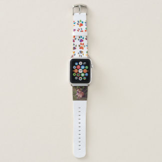 australischer Viehhunderotes Legen Apple Watch Armband