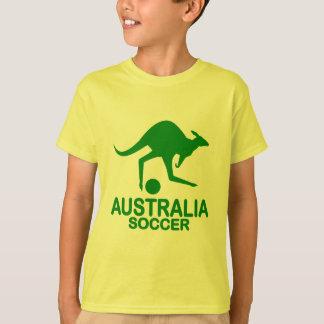 Australisches Fußballgrün T-Shirt